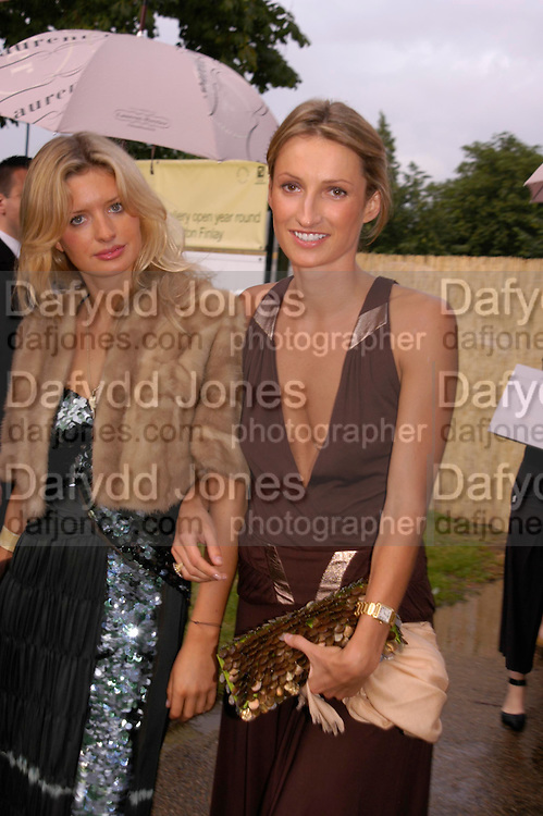 Lainey Yong and Dita van Kova. The Serpentine Summer party co-hosted by Jimmy Choo. The Serpentine Gallery. 30 June 2005. ONE TIME USE ONLY - DO NOT ARCHIVE  © Copyright Photograph by Dafydd Jones 66 Stockwell Park Rd. London SW9 0DA Tel 020 7733 0108 www.dafjones.com