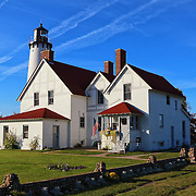 &quot;Light Upon Light&quot;<br /> <br /> The lovely Point Iroquois Light Station! A scenic lighthouse located on the shores of Lake Superior in Michigan's Upper Peninsula!!<br /> <br /> Lighthouses of the Great Lakes by Rachel Cohen
