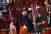 Patrick Monahan, of Train, performs at the 2017 Rockefeller Center Christmas Tree Lighting Ceremony, Wednesday, Nov. 29, 2017, in New York. (Diane Bondareff/AP Images for Tishman Speyer)