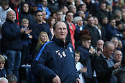 Preston Manager Simon Grayson during the Sky Bet Championship match between Preston North End and Burnley at Deepdale, Preston, England on 22 April 2016. Photo by Pete Burns.