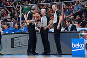 DESCRIZIONE : Beko Final Eight Coppa Italia 2016 Serie A Final8 Finale Olimpia EA7 Emporio Armani Milano - Sidigas Scandone Avellino<br /> GIOCATORE : Luigi LaMonica Paolo Taurino Manuel Mazzoni<br /> CATEGORIA : Arbitro Referee Before Pregame<br /> SQUADRA : AIAP<br /> EVENTO : Beko Final Eight Coppa Italia 2016<br /> GARA : Finale Olimpia EA7 Emporio Armani Milano - Sidigas Scandone Avellino<br /> DATA : 21/02/2016<br /> SPORT : Pallacanestro <br /> AUTORE : Agenzia Ciamillo-Castoria/L.Canu