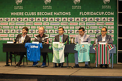 01/07/2018. Orlando, USA.  <br /> Press event to launch the 2018 Florida Cup.<br /> <br /> Rangers Assistant Manager Jimmy Nicol speaks to the assembled media. <br /> <br /> At  Universal Resort, Orlando.<br /> Pic: Mark Davison /PLPA