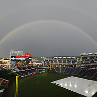 Rainbow Over Nationals Park