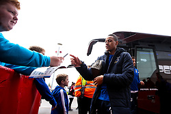 Kyle Bennett of Bristol Rovers arrives at Doncaster Rovers - Mandatory by-line: Robbie Stephenson/JMP - 19/10/2019 - FOOTBALL - The Keepmoat Stadium - Doncaster, England - Doncaster Rovers v Bristol Rovers - Sky Bet League One