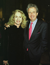 MR & MRS ROBERT LACEY he is the writer, at a reception in London on 1st March 1999.MOW 31