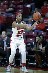 01 November 2017: Viria Livingston during a Exhibition College Women's Basketball game between Illinois State University Redbirds the Red Devils of Eureka College at Redbird Arena in Normal Illinois.