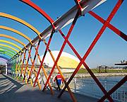 VIEW OF FOOT BRIDGE