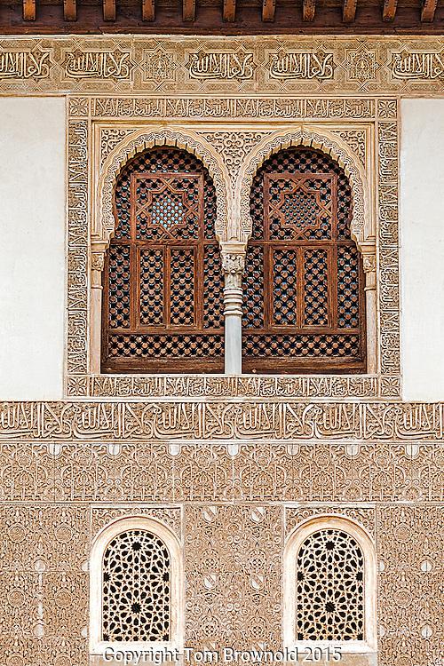 Alhambra moorish architecture.