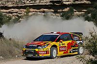 MOTORSPORT - WORLD RALLY CHAMPIONSHIP 2010 - RALLY RACC CATALUNYA COSTA DAURADA / RALLY DE ESPANA / RALLYE D'ESPAGNE - SALOU (SPA) - 21 TO 24/10/10 - PHOTO : BASTIEN BAUDIN / DPPI - <br /> SOLBERG PETTER (NOR) / PATTERSON CHRIS (GBR) - CITROËN C4 WRC - PETTER SOLBERG WRT - ACTION