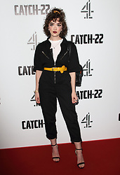 May 15, 2019 - London, United Kingdom - Sophie Seddon attends the Catch 22 - TV Series premiere at the Vue Westfield, Westfield Shopping Centre, Shepherds Bush (Credit Image: © Keith Mayhew/SOPA Images via ZUMA Wire)