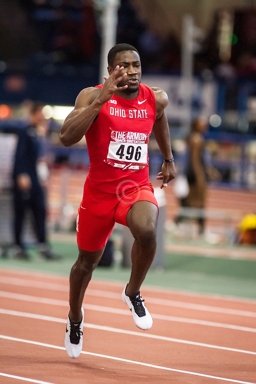College Men 60m Dash, Ohio State, Clark, Armory Track Invitational Indoor,