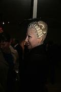 Pinkietessa, ' Show Off' Theo Fennell exhibition co-hosted wit Vanity Fair. Royal Academy. Burlington Gdns. London. 27 September 2007. -DO NOT ARCHIVE-© Copyright Photograph by Dafydd Jones. 248 Clapham Rd. London SW9 0PZ. Tel 0207 820 0771. www.dafjones.com.