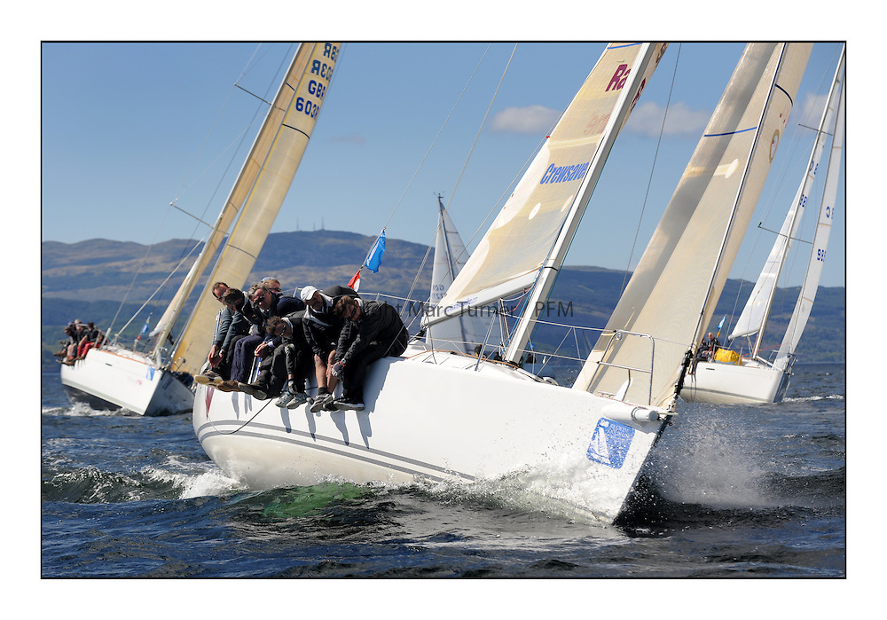 The Brewin Dolphin Scottish Series, Tarbert Loch Fyne...GBR66R Christie Cancer Care J109  RStGYC Hyland / Biggs.