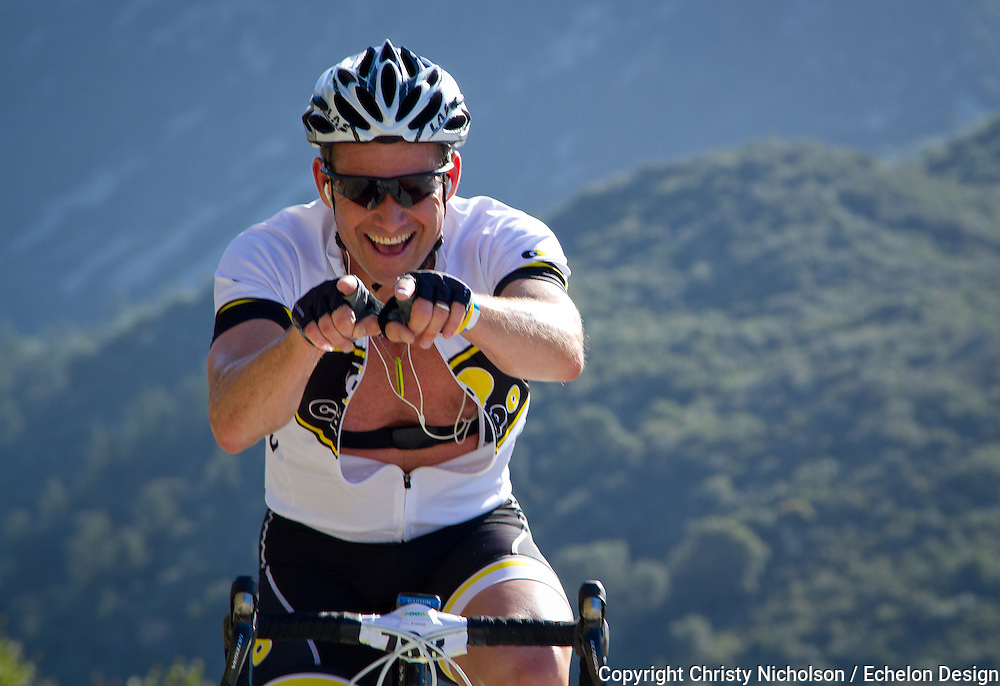 Photos from the L'Etape du California bicycle fun ride that is hosted by the Amgen Tour of California.