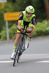 26.06.2015, Einhausen, GER, Deutsche Strassen Meisterschaften, im Bild Theres Klein (RSV Chemnitz) // during the German Road Championships at Einhausen, Germany on 2015/06/26. EXPA Pictures © 2015, PhotoCredit: EXPA/ Eibner-Pressefoto/ Bermel<br /> <br /> *****ATTENTION - OUT of GER*****