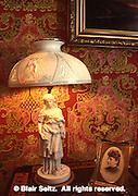 Kemerer Museum, Ceremic Lamp, Historic Bethlehem, PA