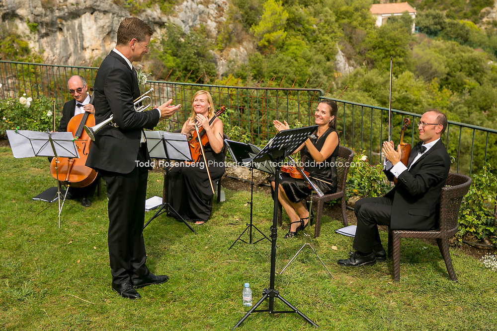 9/16/15 7:46:09 AM -- Eze, Cote Azure, France<br /> <br /> The Wedding of Ruby Carr and Ken Fitzgerald in Eze France at the Chateau de la Chevre d'Or. <br /> . &copy; Todd Rosenberg Photography 2015