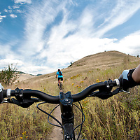 Mountain biking, Kalamalka Provincial Park, Vernon British Columbia