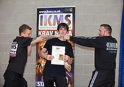 Instructors from the Institute Of Krav Maga Scotland.<br /> &copy;Michael Schofield.