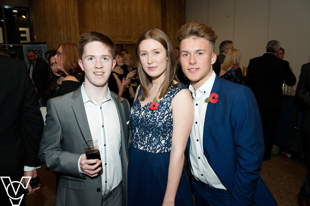 Lincolnshire Sports Awards 2015.<br /> <br /> Picture: Chris Vaughan/Chris Vaughan Photography for Lincolnshire Sport.<br /> Date: November 5, 2015