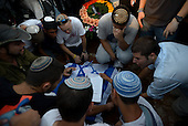 Israel News - Funeral service of three Kidnapped Jewish Teenagers