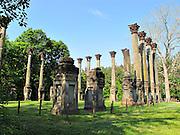 Ruins of Windsor west of Port Gibson Mississippi.