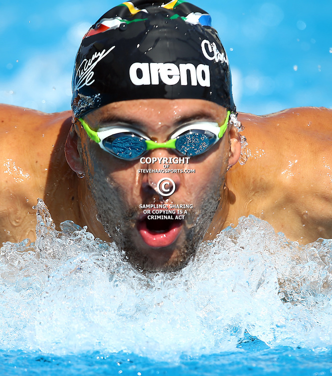 Durban South Africa - December Friday 18, Chad Le Clos during the 2015 KZN Premier Championships.<br /> KINGS PARK POOL COMPLEX &ndash; MASABALALA YENGWA AVE -DURBAN,Friday 18h December till Sunday 20st December 2015.(Photo by Steve Haag)images for social media must have consent from Steve Haag