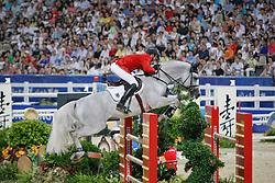 Kutscher Marco (GER) - Cornet Obolensky<br /> Olympic Games Hong Kong 2008<br /> Photo © Dirk Caremans - Hippo Foto