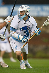 05 April 2008: North Carolina Tar Heels attackman Kevin Federico (3) during a 11-12 OT loss to the Virginia Cavaliers on Fetzer Field in Chapel Hill, NC.