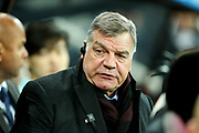 Everton manager Sam Allardyce during the Premier League match between Newcastle United and Everton at St. James's Park, Newcastle, England on 13 December 2017. Photo by Craig Doyle.