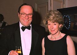The EARL & COUNTESS OF ANCRAM, he is Michael Ancram MP for Devizes, at a dinner in London on 6th July 1998.MIX 6