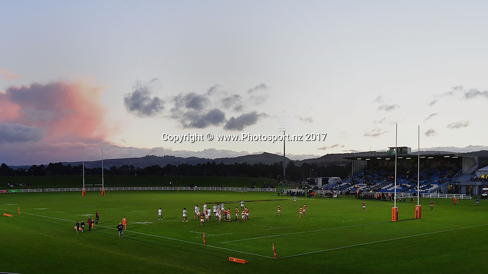 Owen Delany Park general view during the Jock Hobbs Memorial trophy final rugby match between the Auckland and Waikato at Owen Delany Park in Taupo on Saturday the 16th September 2017. Copyright Photo by Marty Melville / www.Photosport.nz