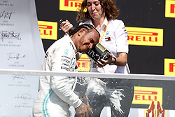 June 9, 2019 - Montreal, Canada - Motorsports: FIA Formula One World Championship 2019, Grand Prix of Canada, ..#44 Lewis Hamilton (GBR, Mercedes AMG Petronas Motorsport),  Marga Torres  (Credit Image: © Hoch Zwei via ZUMA Wire)