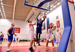 Tyrone Lee of Bristol Flyers is fouled  - Mandatory byline: Joe Meredith/JMP - 11/12/2015 - Basketball - SGS Wise Campus - Bristol, England - Bristol Flyers v Plymouth Raiders - British Basketball League