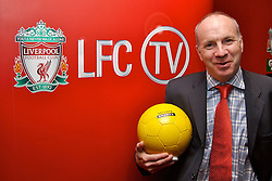 Liverpool, England - Thursday, September 27, 2007: Co-Founder of Setanta Sports Mickey O'Rorke at the launch of the Official Liverpool FC television channel on Setanta Sports at Anfield. (Photo by David Rawcliffe/Propaganda)..For more details regarding LFC TV please contact Jo Crump or Steven Hartley at LiverpoolFC.TV jo,crump@liverpoolfc.tv / steven.hartley@liverpoolfc.tv