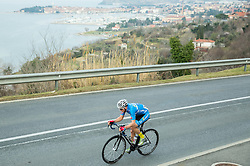 Winner  Gregor Muhllberger of Team Felbermayr Simplon Wels Team (AUT) during UCI Class 1.2 professional race 2nd Grand Prix Izola, on March 1, 2015 in Izola / Isola, Slovenia. Photo by Vid Ponikvar / Sportida
