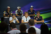 July 21-24, 2016 - Hungarian GP, Carlos Sainz Jr. Scuderia Toro Rosso, Sergio Perez (MEX), Force India, Marcus Ericsson, Sauber , Felipe Massa (BRA), Williams Martini Racing , Nico Rosberg  (GER), Mercedes , Max Verstappen, Red Bull