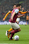 Aston Villa midfielder Robert Snodgrass (7) attacking  during the EFL Sky Bet Championship match between Hull City and Aston Villa at the KCOM Stadium, Kingston upon Hull, England on 31 March 2018. Picture by Mick Atkins.