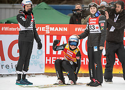 02.02.2019, Energie AG Skisprung Arena, Hinzenbach, AUT, FIS Weltcup Ski Sprung, Damen, Wertungsdurchgang, im Bild v.l. Silje Opseth (NOR), Maren Lundby (NOR), Anne Odine Stroem (NOR) // v.l. Silje Opseth (NOR), Maren Lundby (NOR), Anne Odine Stroem (NOR) during the woman's Competition Jump of FIS Ski Jumping World Cup at the Energie AG Skisprung Arena in Hinzenbach, Austria on 2019/02/02. EXPA Pictures © 2019, PhotoCredit: EXPA/ Reinhard Eisenbauer