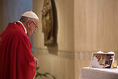 Vatican: Pope Francis Celebrates Mass For French Priest Jacques Hamel, 14 September 2016