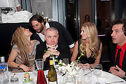 "LAURA BARDIGEU; DAMIEN HIRST; MARISSA MONTGOMERY; ANT GENN,   Andy Valmorbida hosts party to  honor artist Raphael Mazzucco and Executive Editors Jimmy Iovine and Sean ÒDiddyÓ Combs with a presentation of works from their new book, Culo by Mazzucco. Dinner at Mr.ÊChow at the W South Beach.Ê2201 Collins Avenue,Miami Art Basel 2 December 2011<br /> LAURA BARDIGEU; DAMIEN HIRST; MARISSA MONTGOMERY; ANT GENN,   Andy Valmorbida hosts party to  honor artist Raphael Mazzucco and Executive Editors Jimmy Iovine and Sean ""Diddy"" Combs with a presentation of works from their new book, Culo by Mazzucco. Dinner at Mr. Chow at the W South Beach. 2201 Collins Avenue,Miami Art Basel 2 December 2011"