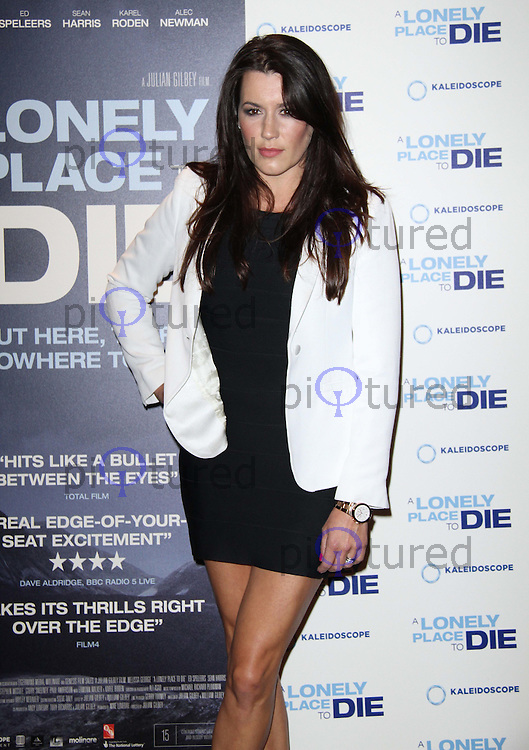 Kate Magowan A Lonely Place to Die UK Premiere, Empire Cinema, Leicester Square, London, UK. 07 September 2011. Contact: Rich@Piqtured.com +44(0)7941 079620 Picture by Richard Goldschmidt