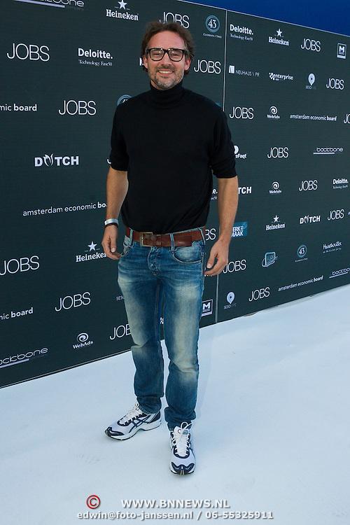 NLD/Amsterdam/20130903 - Filmpremiere Jobs , Jeroen Nieuwenhuize