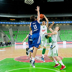 20131222: SLO, Basketball - ABA League, KK Union Olimpija vs KK Zadar