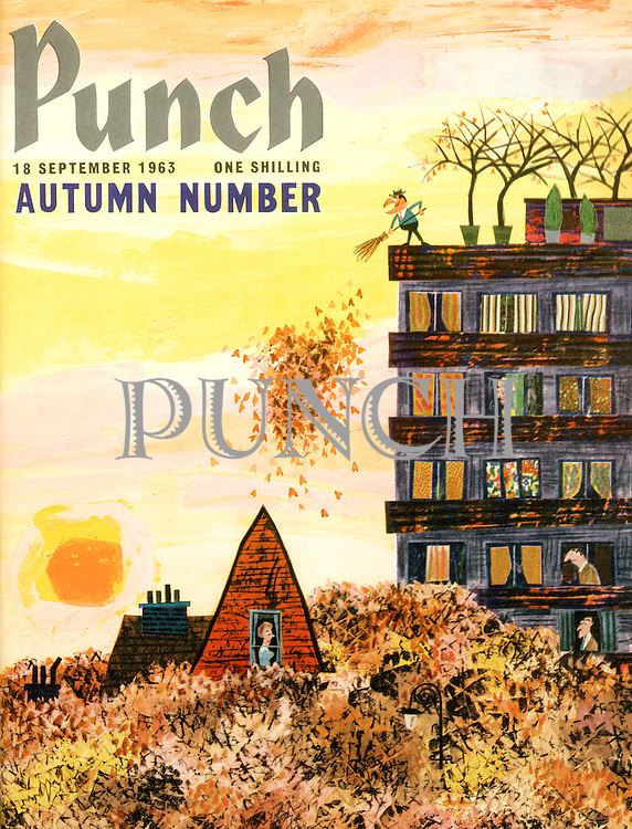 Punch (Front cover, 18 September 1963)