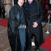 NLD/Amsteram/20121024- Presentatie biografie Joop van den Ende, schoenontwerper Jan Janzen en partner