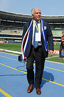"Riccardo Garrone Samp<br /> Verona, 3/04/2011 Stadio ""Bentegodi""<br /> Chievo-Sampdoria<br /> Campionato Italiano Serie A 2010/2011<br /> Foto Nicolo' Zangirolami Insidefoto"