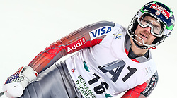 26.01.2016, Planai, Schladming, AUT, FIS Weltcup Ski Alpin, Schladming, Slalom, Herren, 2. Durchgang, im Bild David Chodounsky (USA) // David Chodounsky of the USA reacts after his 2nd run of men's Slalom Race of Schladming FIS Ski Alpine World Cup at the Planai in Schladming, Austria on 2016/01/26. EXPA Pictures © 2016, PhotoCredit: EXPA/ Johann Groder