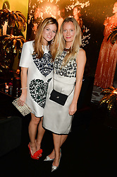 Left to right, SERENA HOOD and MARTHA WARD at the Vogue Pop Up Club at Westfield London to celebrate Westfield London's 5th birthday on 30th October 2013.