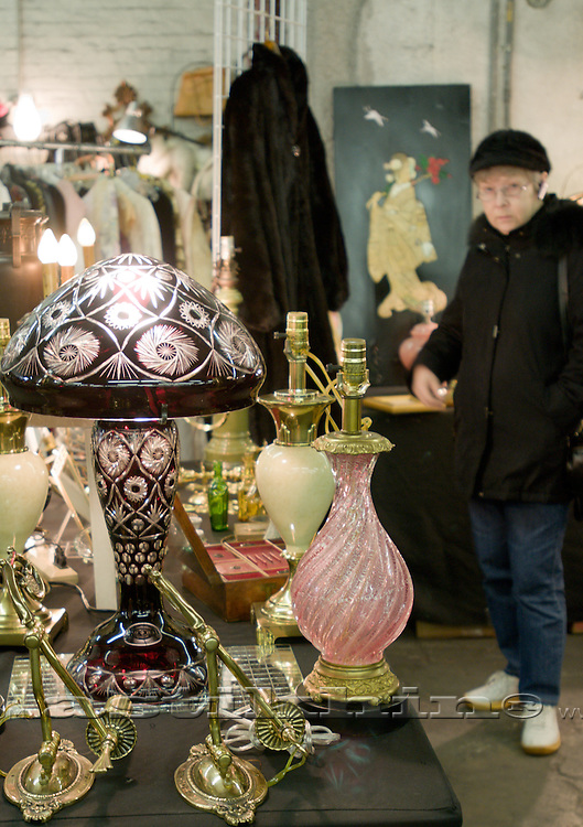 Table Lamps on the Table